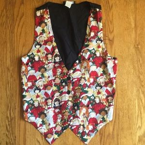 EUC VINTAGE Tacky Christmas Vest | Medium
